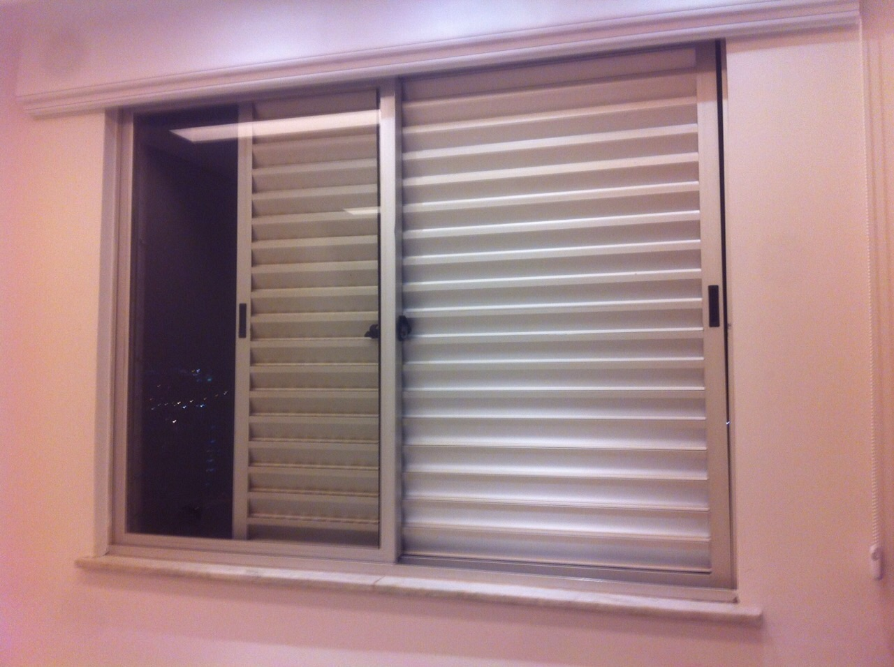 #904C3B janela de correr com veneziana janela veneziana acessório para janela 1672 Janela De Aluminio Manutenção